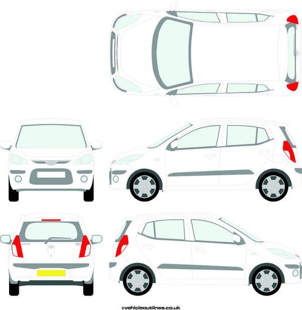 Cars Hyundai I10 2008-13