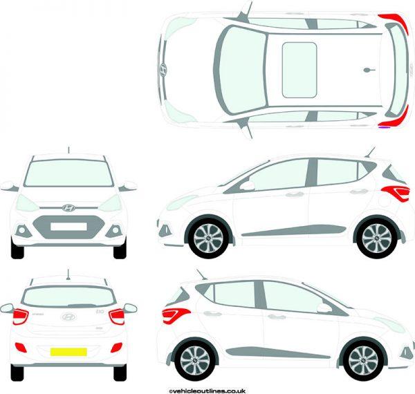 Cars Hyundai I10 2014-19