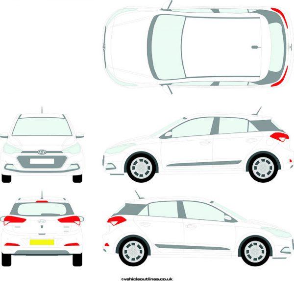 Cars Hyundai I20 2015-20