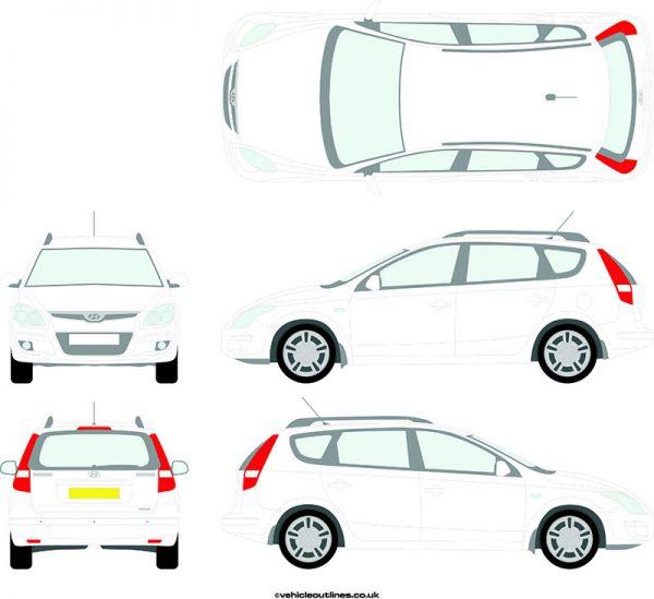 Cars Hyundai I30 2008-12