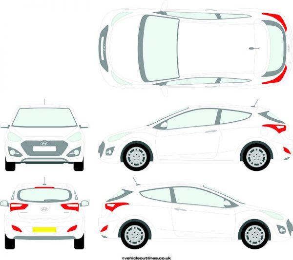 Cars Hyundai I30 2012-17