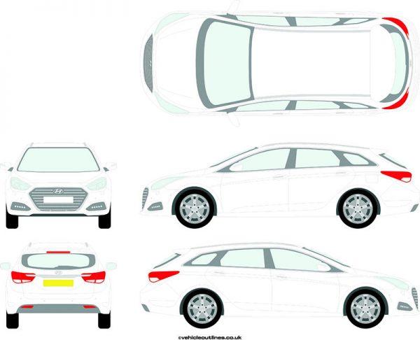 Cars Hyundai I40 2016-21