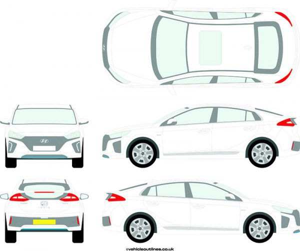 Cars Hyundai Ioniq 2016-21