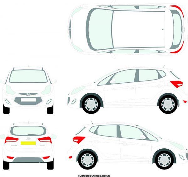 Cars Hyundai IX20 2010-16
