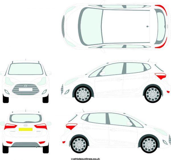 Cars Hyundai IX20 2016-21