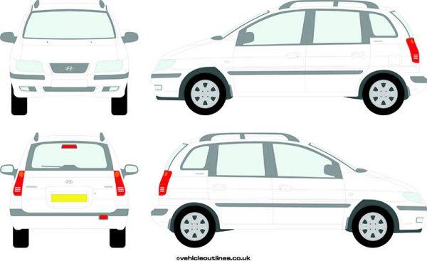 Cars Hyundai Matrix 2001-10