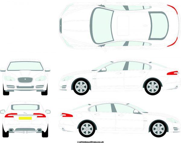 Cars Jaguar XF 2008-15