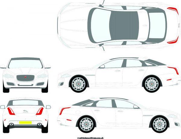 Cars Jaguar XJ 2010-19