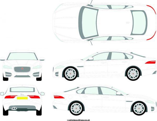 Cars Jaguar XF 2016-21