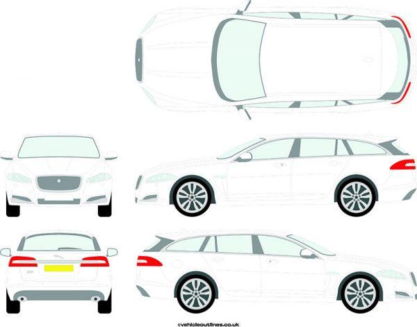Cars Jaguar XF 2012-15