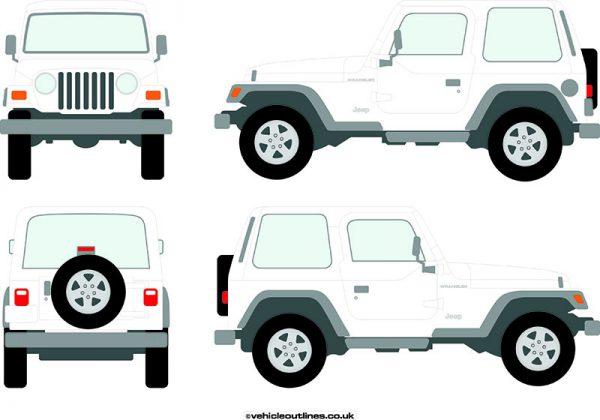 4x4 Jeep Wrangler 1997-2002