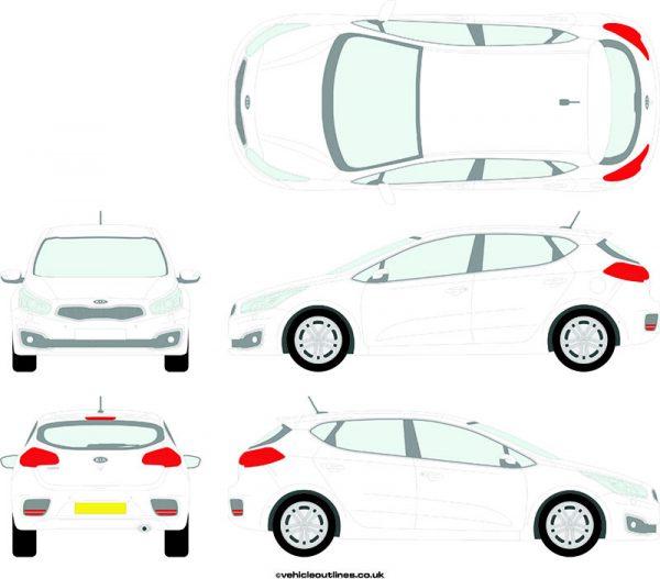 Cars Kia Ceed 2012-16