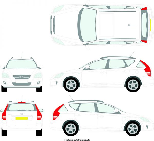Cars Kia Ceed 2007-12