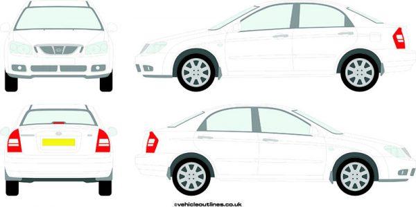 Cars Kia Cerato 2004-07