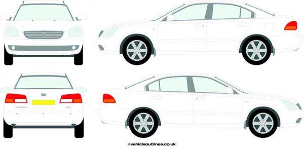 Cars Kia Magentis 2006-10