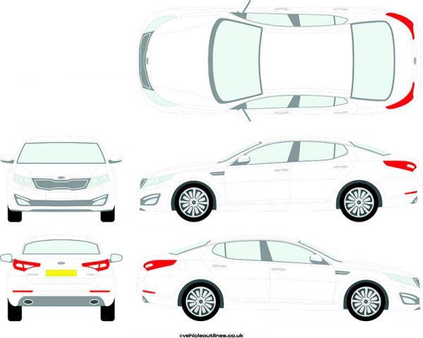 Cars Kia Optima 2012-16