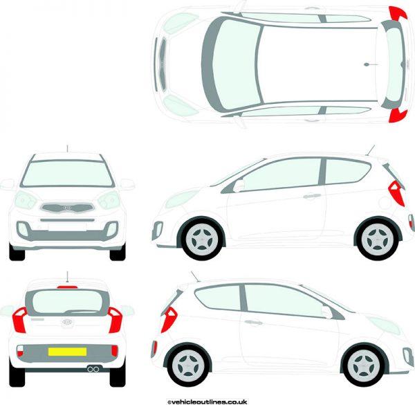 Cars Kia Picanto 2011-16