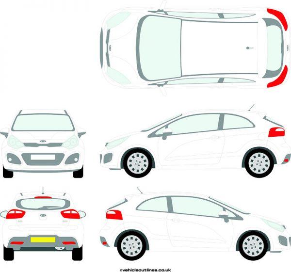Cars Kia Rio 2011-17