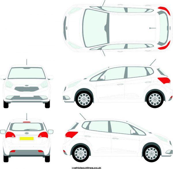 Cars Kia Venga 2015-20
