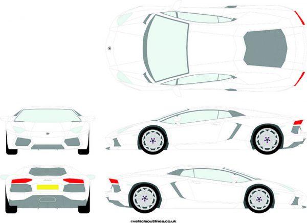 Cars Lamborghini Aventador 2011-14