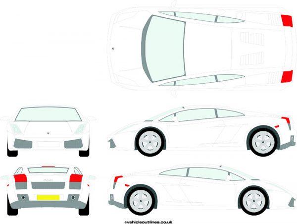 Cars Lamborghini Gallardo 2006-10