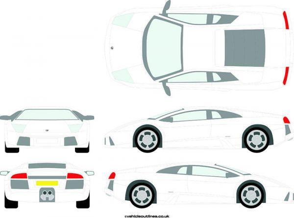 Cars Lamborghini Murcielago 2001-10
