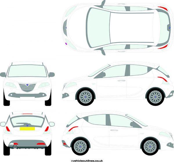 Cars Lancia Ypsilon 2011-18