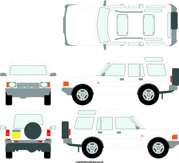 4x4 Land Rover Discovery 1989-98