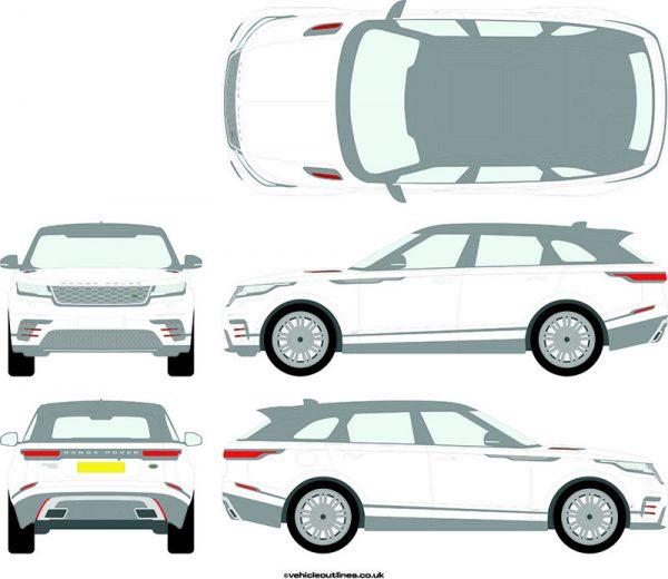 4x4 Range Rover Velar 2017-21