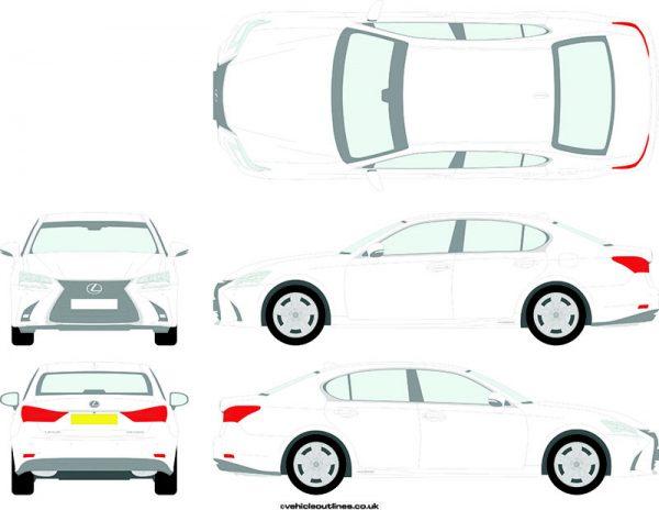 Cars Lexus GS 2015-21