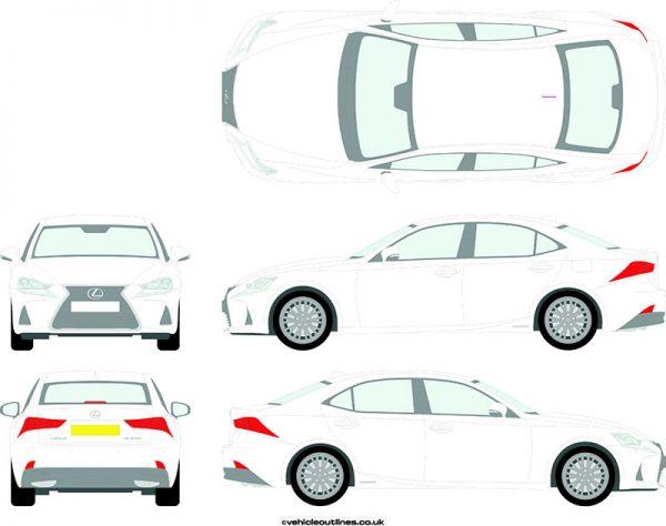 Cars Lexus IS 2014-21