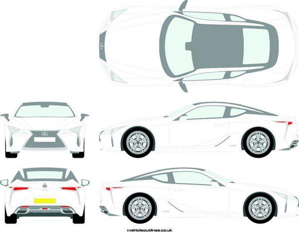 Cars Lexus LC 2017-21