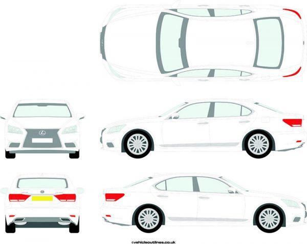 Cars Lexus LS 2012-21
