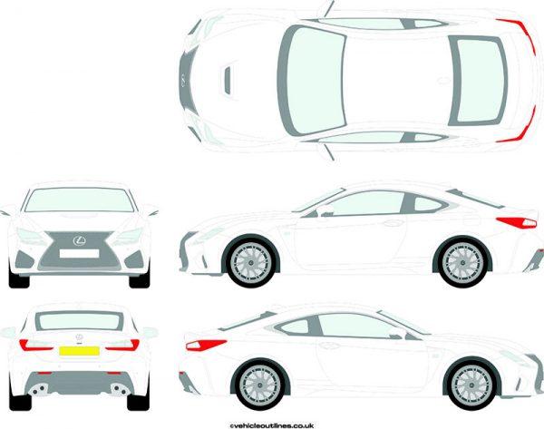 Cars Lexus RC 2015-21