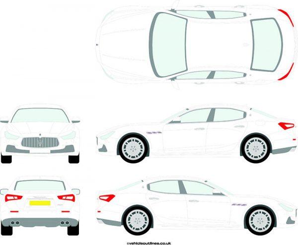 Cars Maserati Ghibli 20014-19