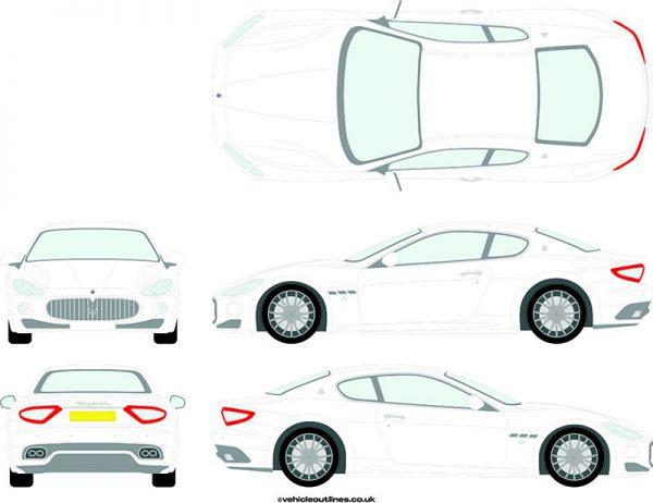 Cars Maserati Granturismo 2008-12
