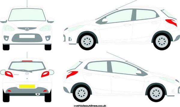 Cars Mazda 2 2007-10