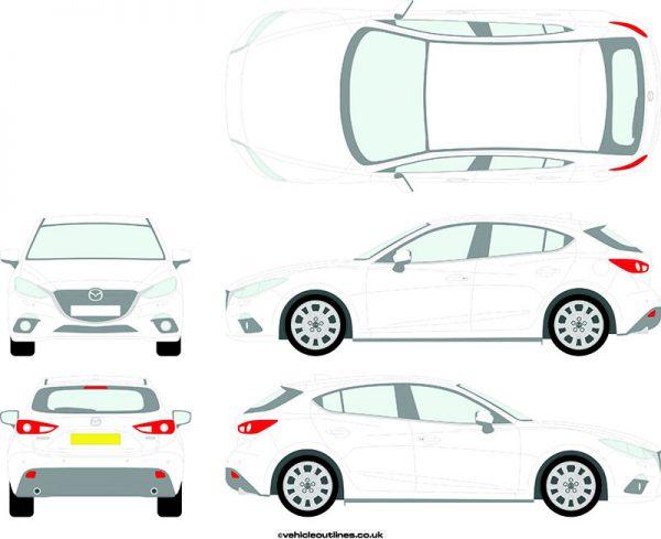 Cars Mazda 3 2014-19