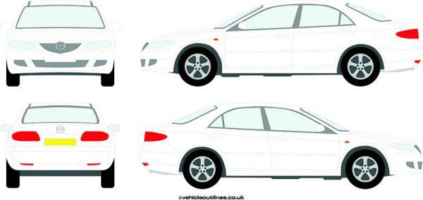 Cars Mazda 6 2002-06