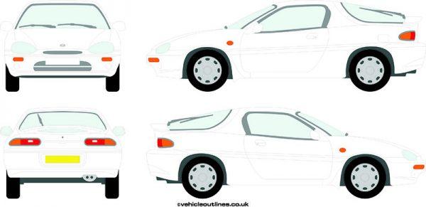 Cars Mazda MX-3 1991-98