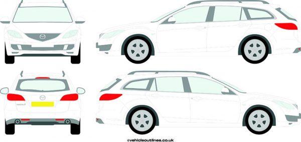 Cars Mazda 6 2008-12