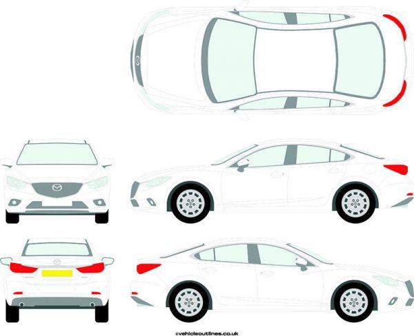 Cars Mazda 6 2013-21