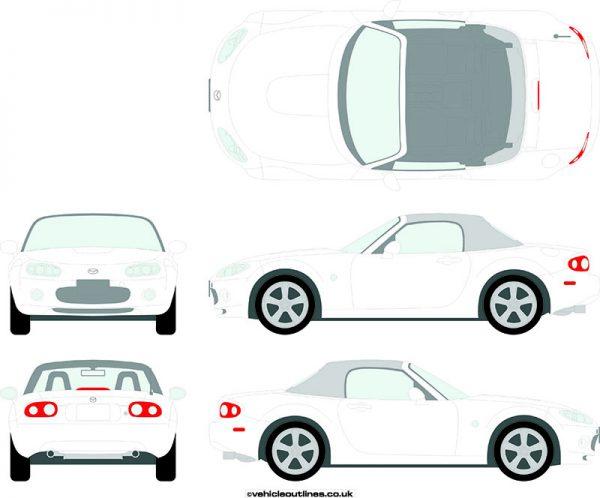 Cars Mazda MX5 2005-08