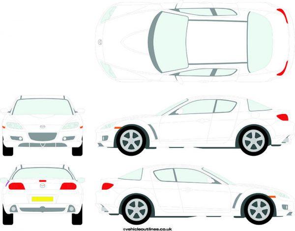 Cars Mazda RX8 2003-08