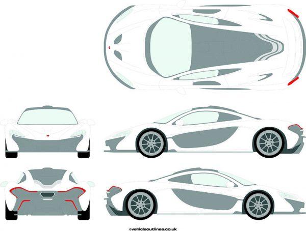 Cars McLaren P1 2014-16