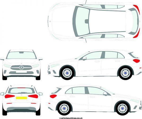 Cars Mercedes A-Class 2019-21