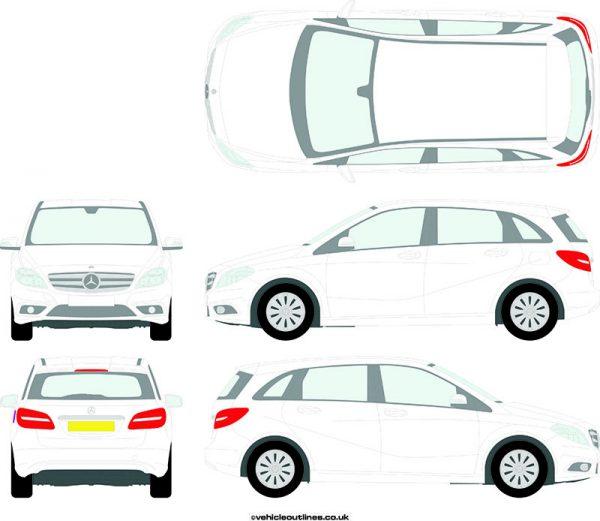 Cars Mercedes B-Class 2011-15