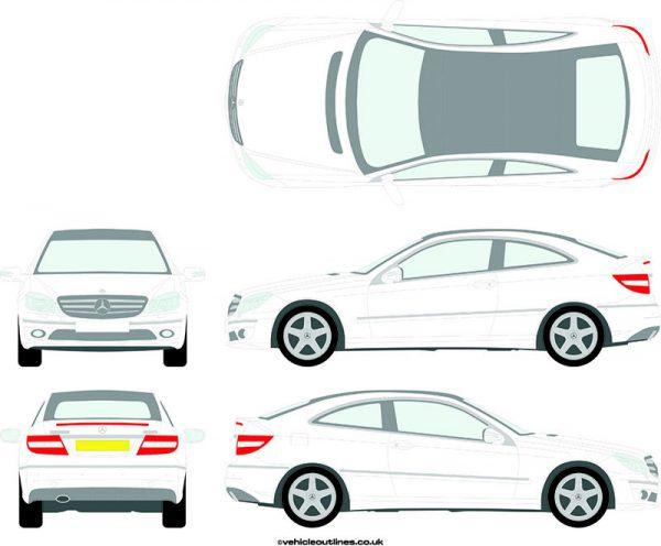 Cars Mercedes CLC 2008-11