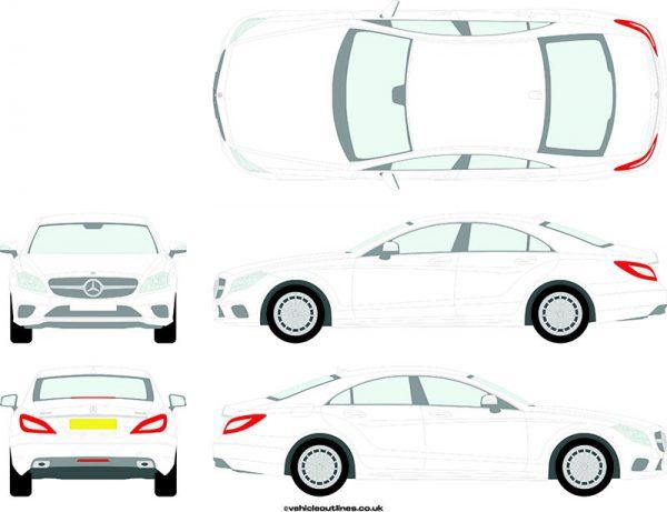 Cars Mercedes CLS 2014-19