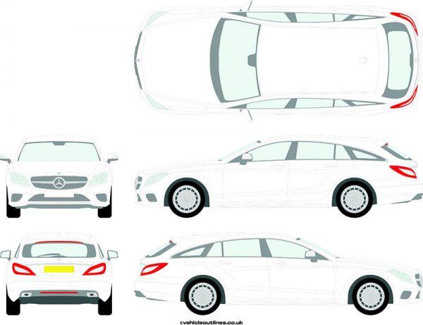 Cars Mercedes CLS 2014-20